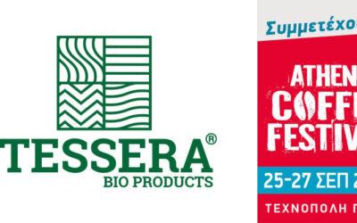 TESSERA Bio Products®: Χορηγός στο 5ο Athens Coffee Festival
